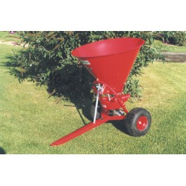 Fertilizer Spreader - 100L - 12hp - Trailed Disc with Steel Hopper