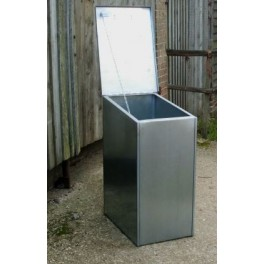 Premium Galvanised Feed Bin -Single