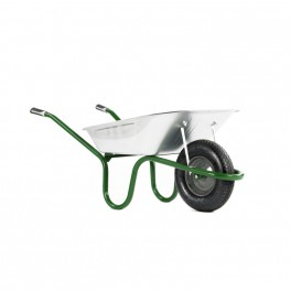 90L Heavy Duty Original Galvanised - Puncture Free Wheel