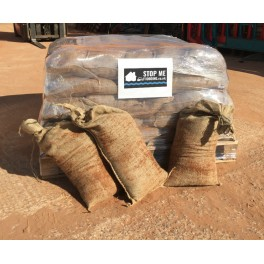 50 Sand Filled Hessian Sandbags