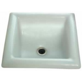 Moulded Hand Basin with Plug