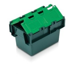Tote Box, Attached Lid Container - 6L