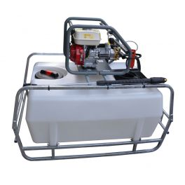 400L Pressure Washer Skid Unit - 13 L/m - 2900Psi (200Bar) Honda Petrol & Recoil