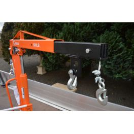 1000lb Swivel Lifting Crane With Winch