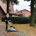 Westermann GXV Honda Moss Brush with Deep Drum and GXV 160 OHV Engine